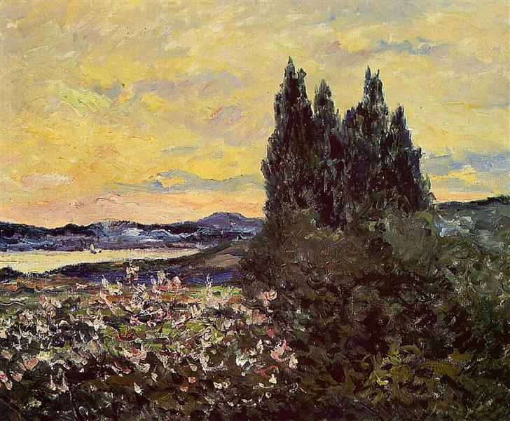 The Bay of Saint-Tropez - Maxime Maufra