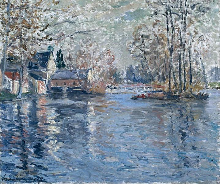 The Dam of a Loir Ponce - Maxime Maufra