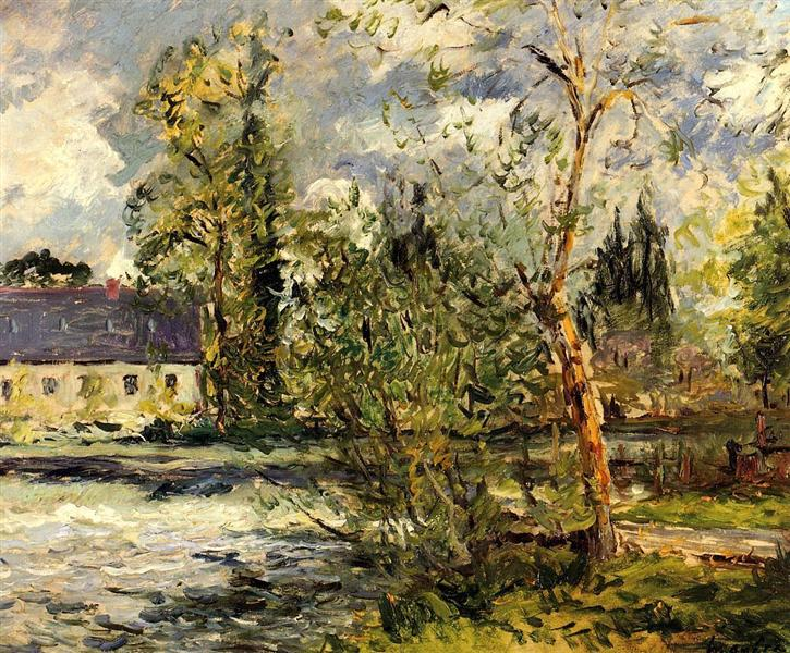 The Ponce Paper Factory on the Edge of the Sathe Woods, 1918 - Maxime Maufra