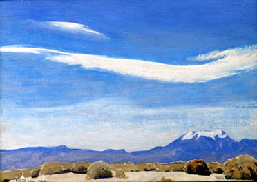 The Cloud, Coachella Valley, California, 1940 - Maynard Dixon