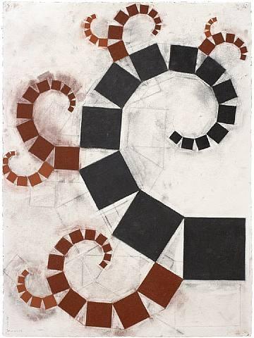 Pythagoras (4), 2006 - Mel Bochner