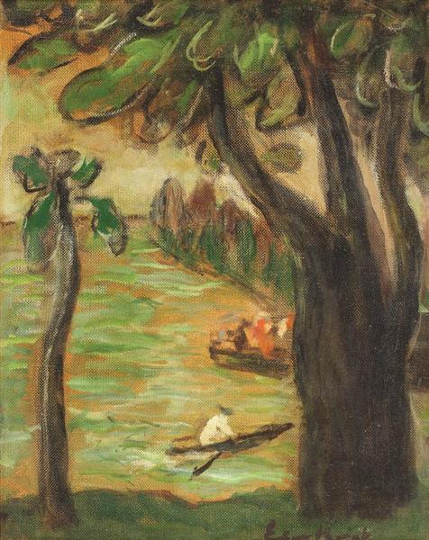 On the Lakeshore - Micaela Eleutheriade