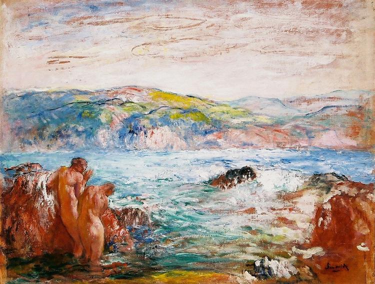 Marine Landscape, 1900 - Michel Simonidy