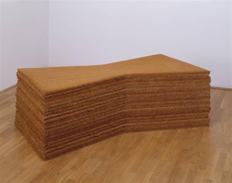 Doormats, 1976 - Michelangelo Pistoletto