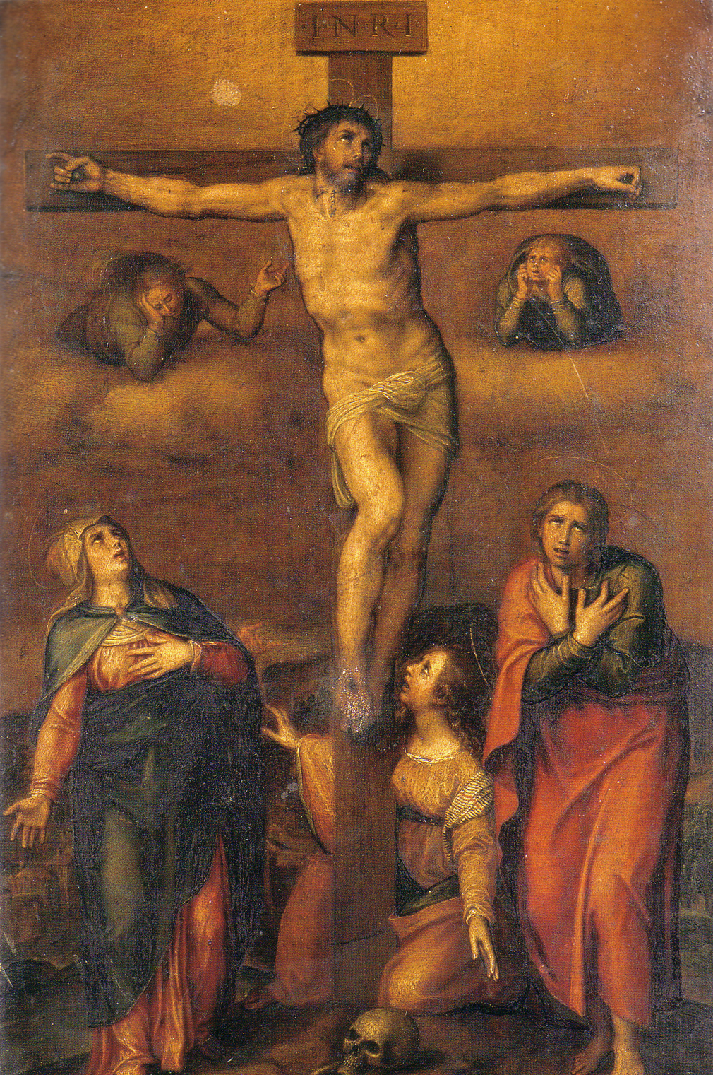 1540 Michelangelo Crucifixion of Christ