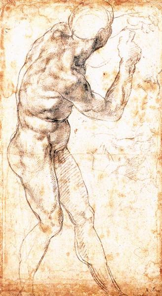"Study to ""Battle of Cascina"", 1504 - Michelangelo"
