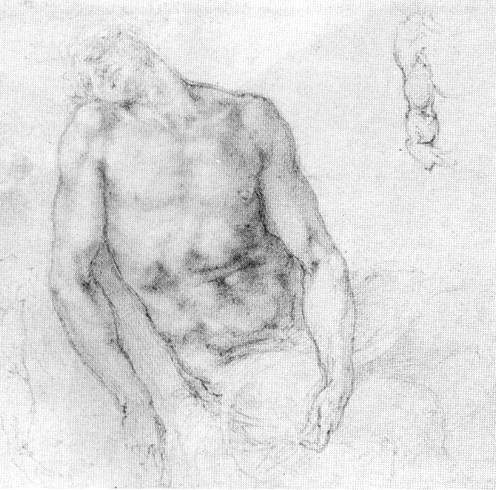 "Study to ""Pieta"", c.1520 - Michelangelo"