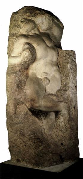 The Awakening Slave, 1536 - Michelangelo