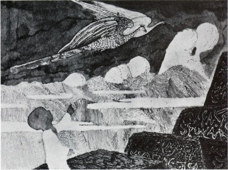 Composition, 1909 - Mikalojus Konstantinas Čiurlionis