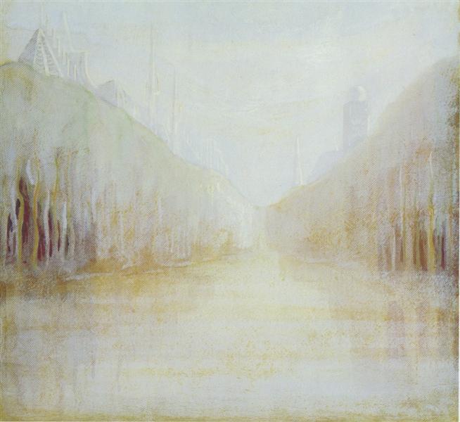 Daybreak (II), 1906 - Mikalojus Konstantinas Čiurlionis