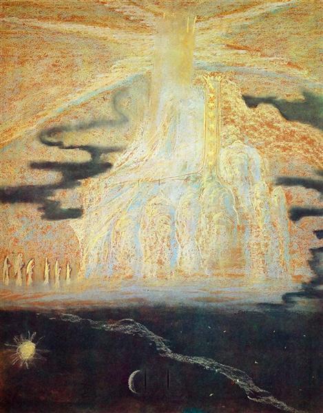Hymn (II) - Mikalojus Konstantinas Ciurlionis