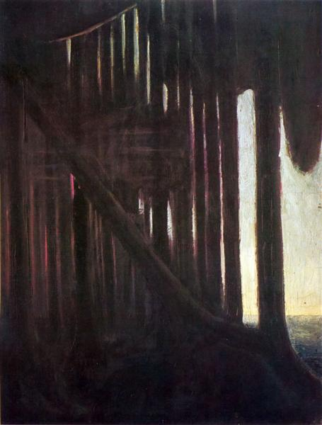 Rustle of the Forest, 1904 - Mikalojus Konstantinas Ciurlionis