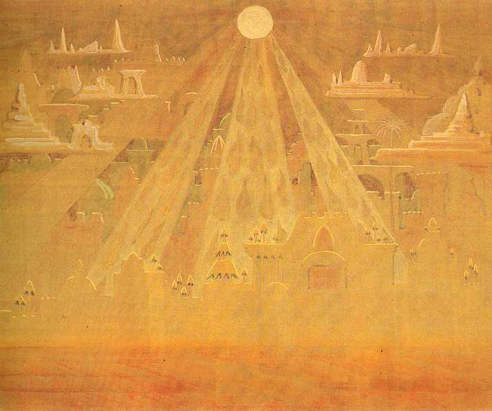 Скерцо (Соната Пірамід), 1909 - Мікалоюс Чюрльоніс