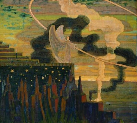 The Offering, 1909 - Mikalojus Konstantinas Ciurlionis