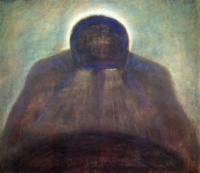 The Thought, 1904 - Mikalojus Konstantinas Čiurlionis