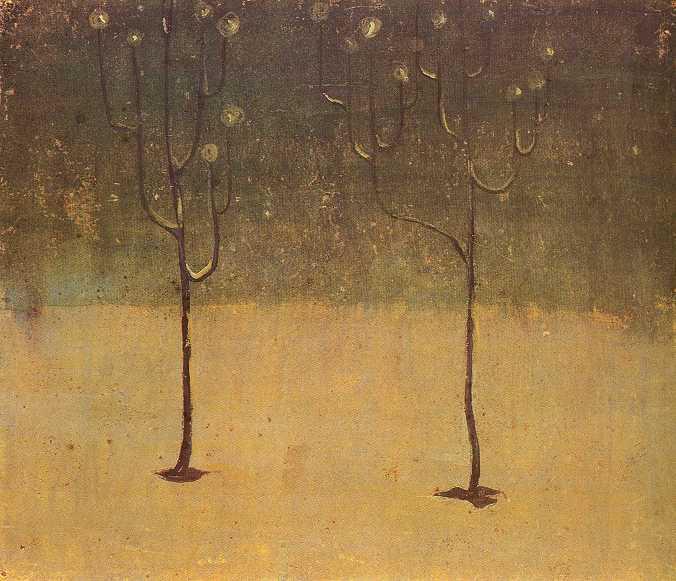 Winter Motif, 1907 - Mikalojus Konstantinas Ciurlionis