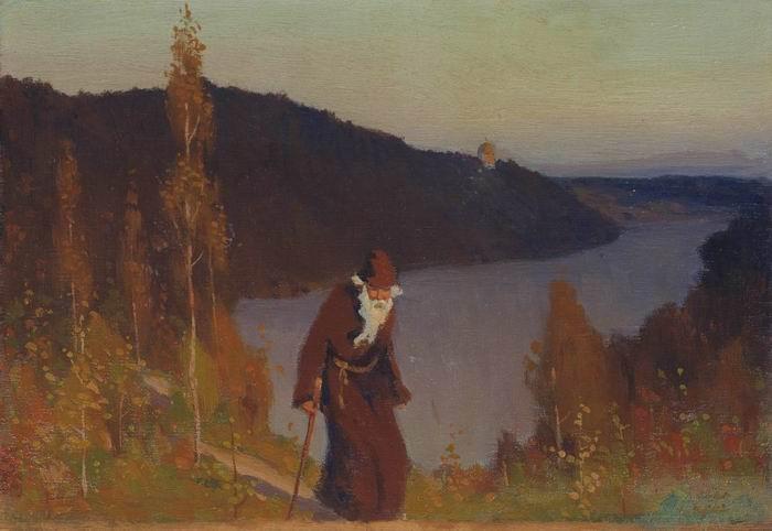 Silence, 1888 - Mikhail Nesterov