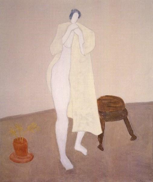 Robed Nude, 1960 - Milton Avery