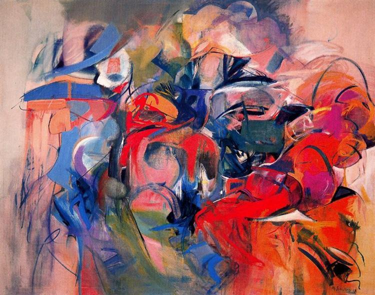 Fanfare, 1968 - Miriam Schapiro