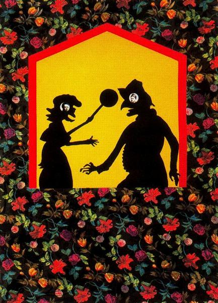 The Punch and Judy Show - Frida and Diego - Miriam Schapiro