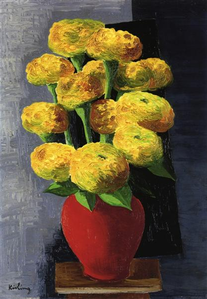 Flowers and shells, 1919 - Moïse Kisling