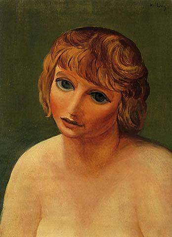 Small head, 1947 - Moise Kisling