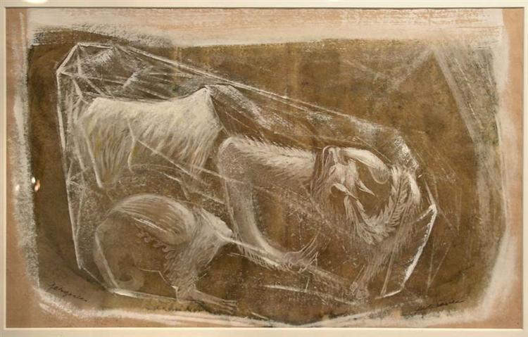 Gargoyles, 1948 - Morris Graves
