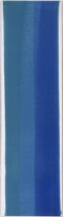 Blue Column - Morris Louis