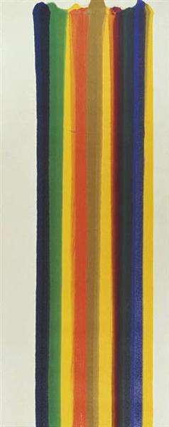 Number 1-82, 1961 - Morris Louis