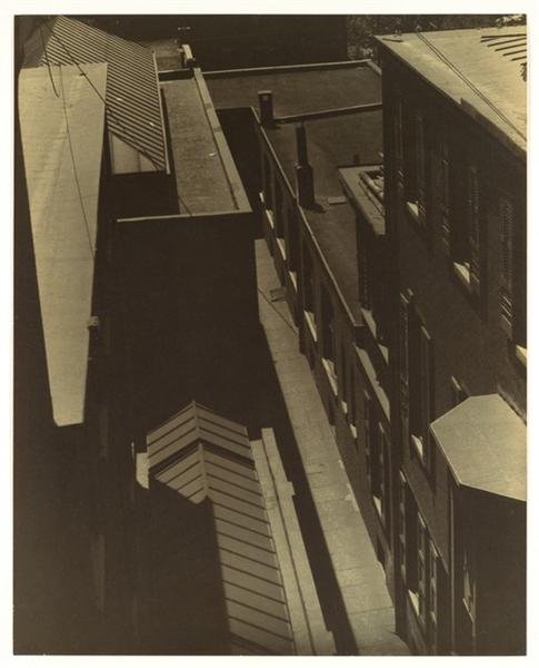 View of Rooftops, 1917 - Morton Livingston Schamberg