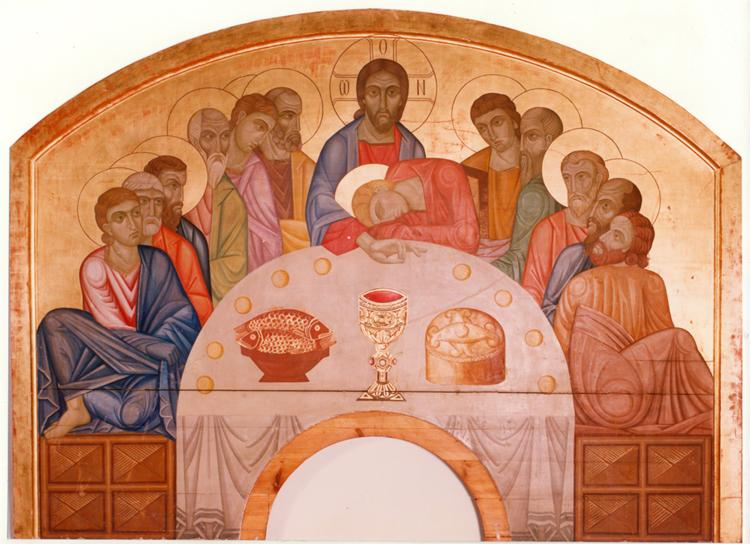 The Last Supper, c.1913 - Mykhailo Boychuk