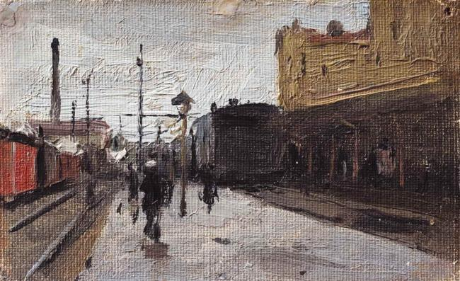 Kiev Station - Mykola Pymonenko