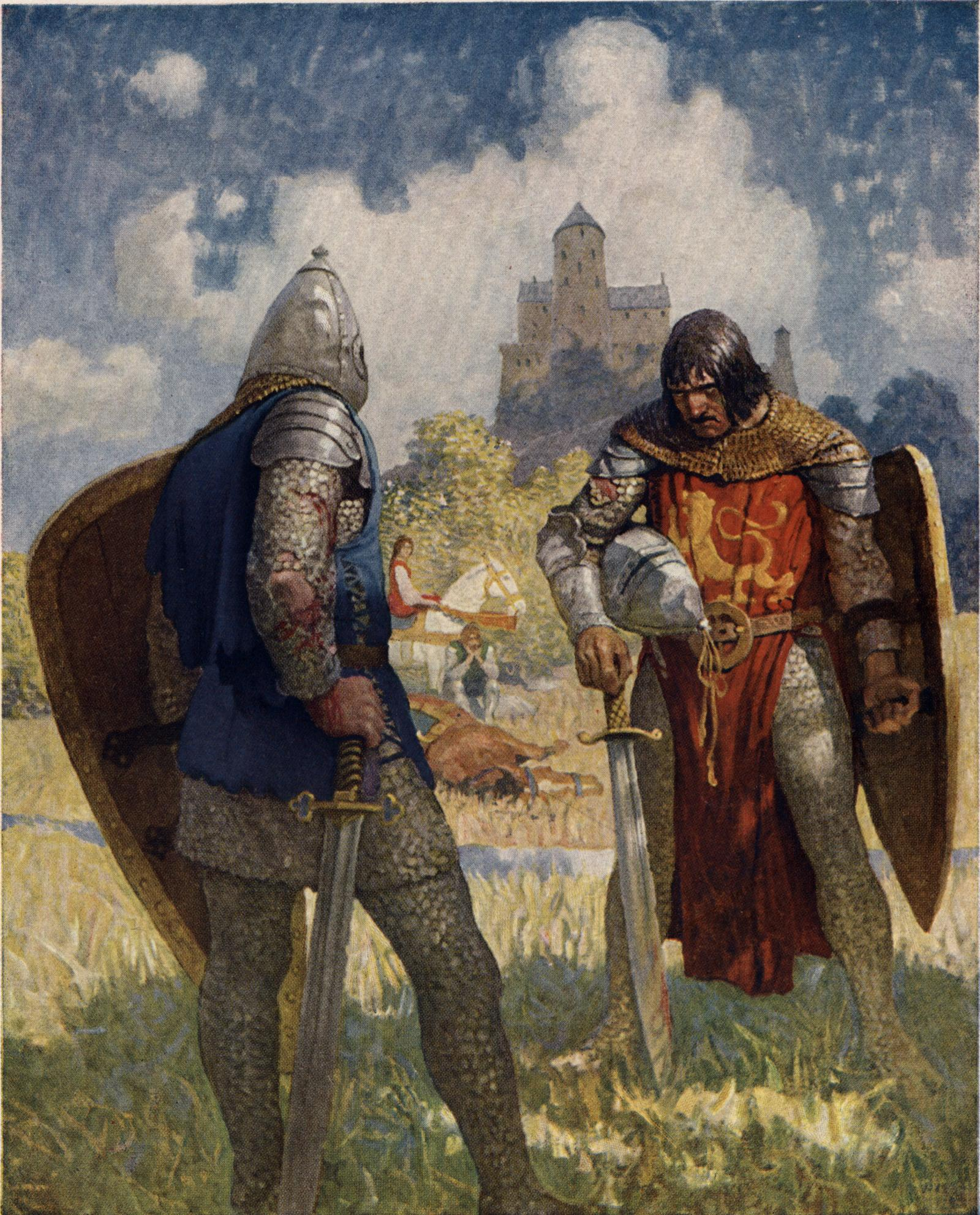 sir gawain and the green knight analysis essay