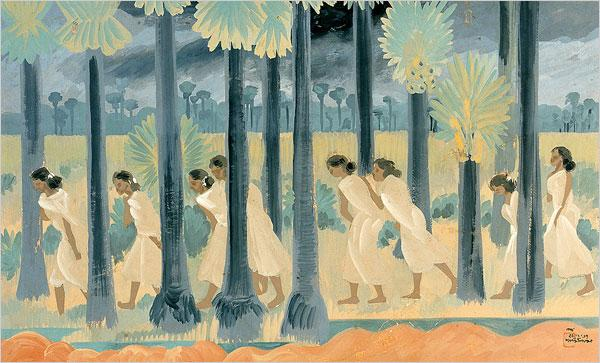 New Clouds, 1937 - Nandalal Bose