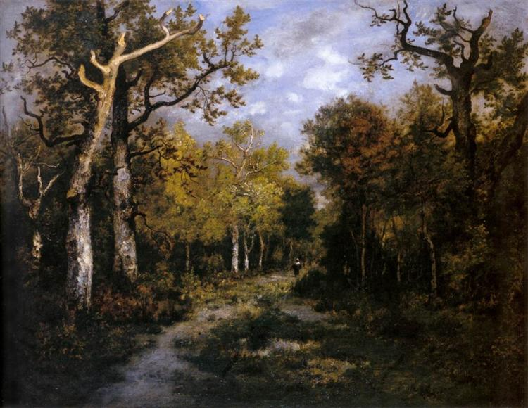 The Forest in Fontainebleau, 1867 - Narcisse-Virgilio Diaz
