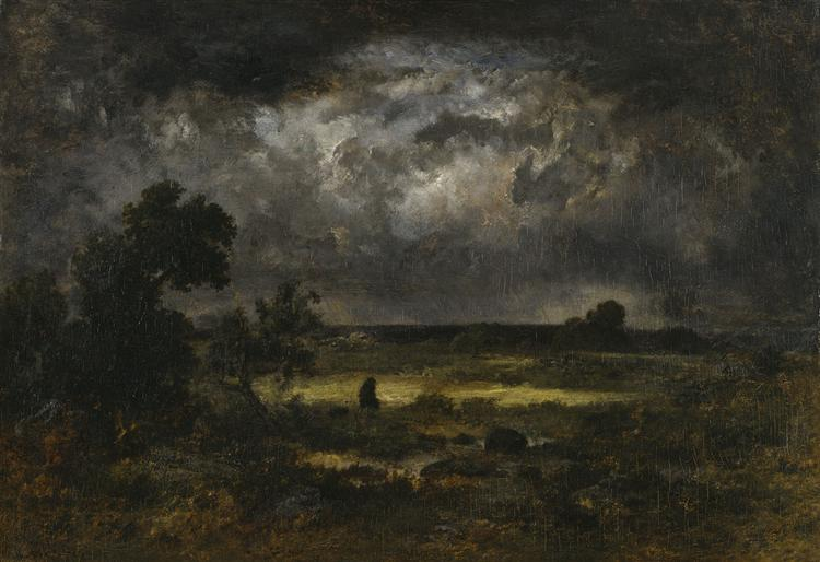 The Storm, 1872 - Narcisse-Virgilio Diaz