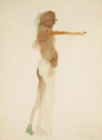 Untitled, 1961 - Nathan Oliveira