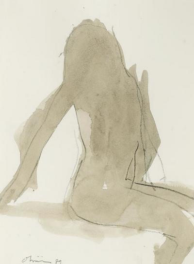 Untitled, 1989 - Nathan Oliveira