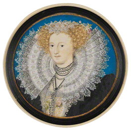 Mary Herbert, Countess of Pembroke, 1590 - Nicholas Hilliard