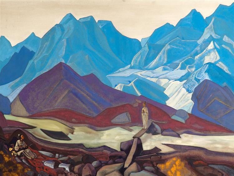 From Beyond, c.1935 - Nicholas Roerich