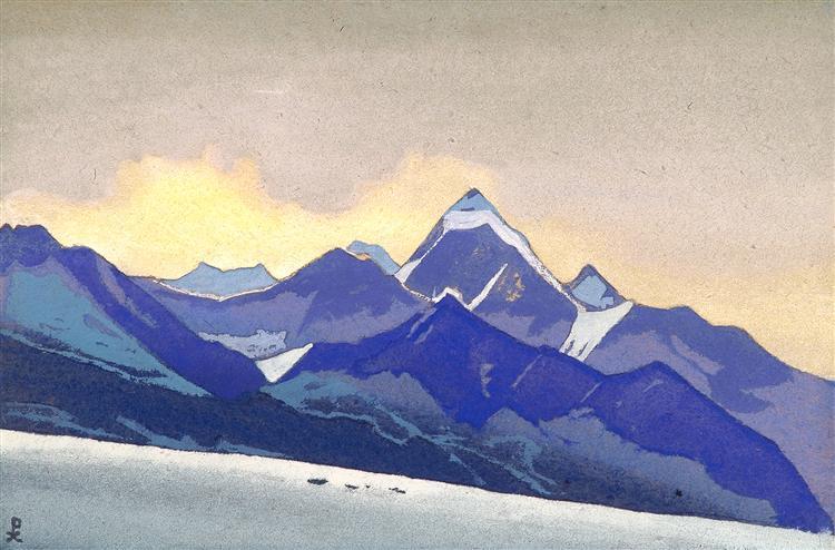 Lahaul, 1947 - Nicholas Roerich