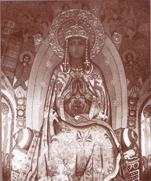 Queen of Heaven over River of Life, 1914