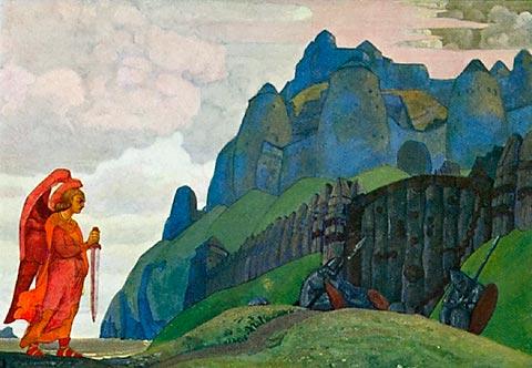 Sword of Courage, 1912 - Nicholas Roerich