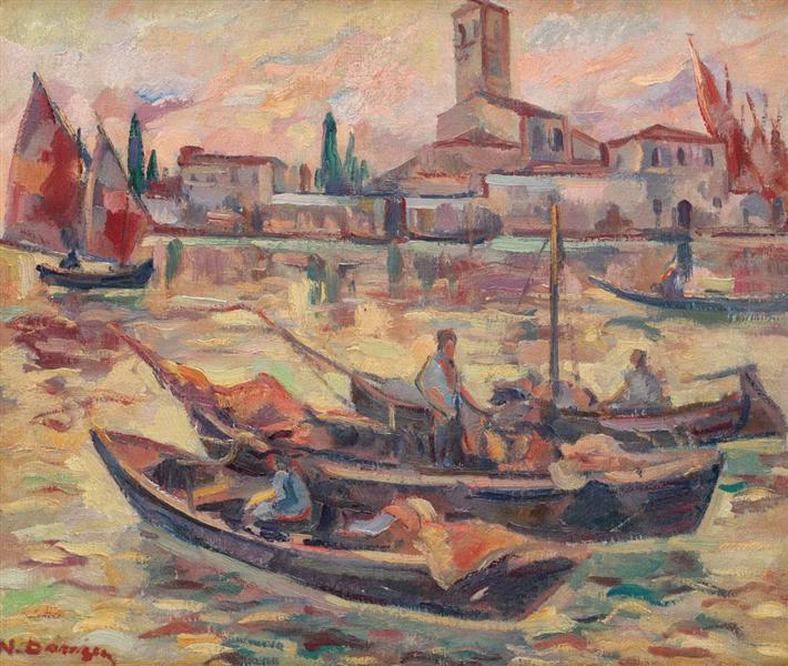 Venice Fishermen, 1926 - Nicolae Darascu