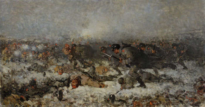 Smârdan Attack - Nicolae Grigorescu