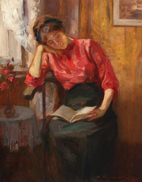 Reading, 1919 - Nicolae Vermont