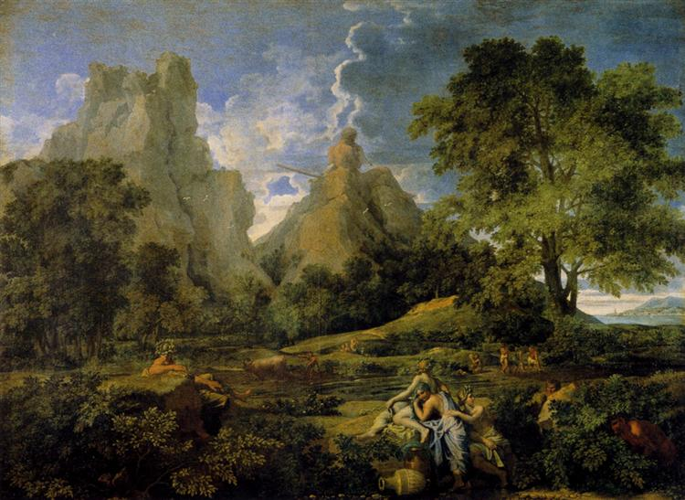Paisaje con Polifemo, 1649 - Nicolas Poussin