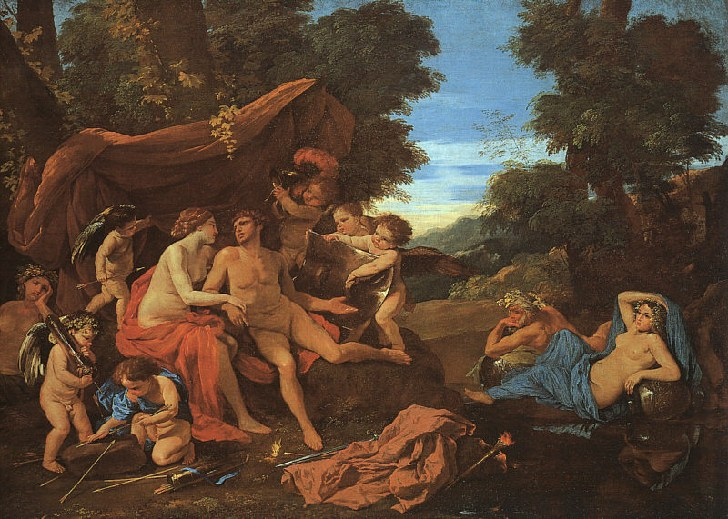 Mars and Venus, 1626 - 1628 - Nicolas Poussin