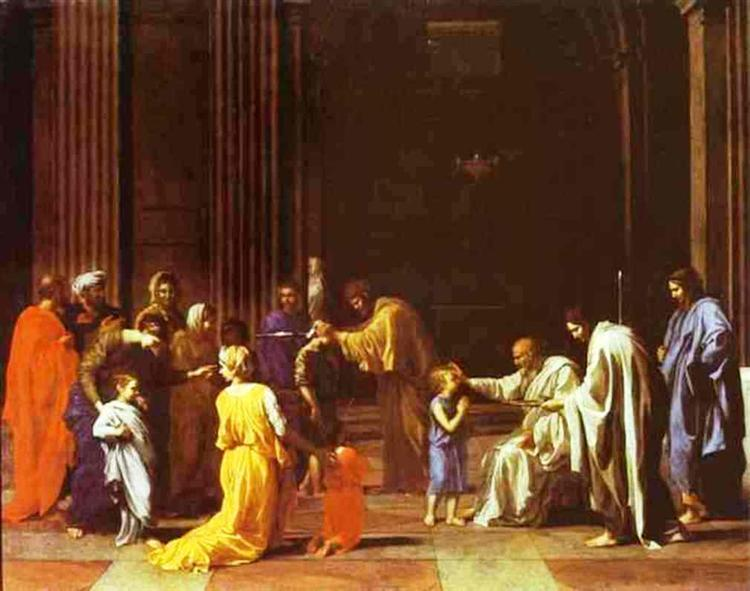 The Confirmation, 1640 - 1649 - Nicolas Poussin