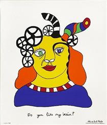 Do You Like My Brain? - Niki de Saint Phalle